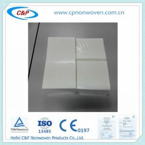 China Disposable medical non woven four belt two hand towel sterile non- reinforced surgical on sale