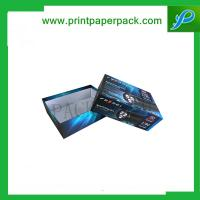 Modern Wash Box Featuring Logo Printed Lid Cosmetic Hairspray Boxes Hair Extension Packaging Box
