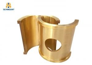 China Bronze Copper Bearing Bush Of Machine Tool  Good Wear Resistance CE Certificated on sale