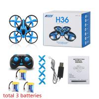 JJRC H36 2.4G Remote Control Drone Helicopter , Remote Control Quadcopter With Camera