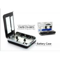 Digital Audio Capture Cassette Tape Converter , USB Cassette Player Retro Style