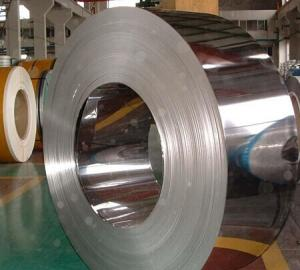 China 15mm - 630mm JIS G 3302 , ASTM A653M Cold Rolled Steel Strip banding Full Hard on sale