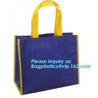China Good Quality Stocklot Recyclable PP Grocery Bag For Shopping custom print pp non woven bag folding non woven bag, bageas on sale