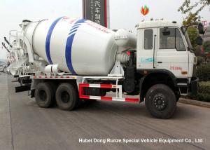 China DFAC 6x4 Small Concrete Mixer Truck 8 Cbm , Moblie Concrete Batch Truck on sale