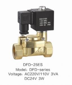 China 24VDC Low Power Air Valve Solenoid Slowly Heating Up With ES Coil on sale