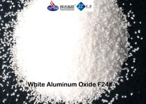 China High Strength 99.2% Aluminum Oxide Abrasive , Weld Spatter Removal Aluminium Oxide Sand on sale