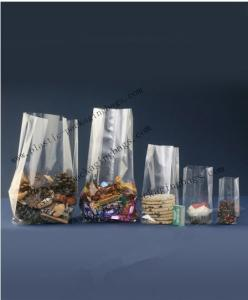 China Block Bottom OPP Cellophane Bags Clear 0.05mm for Gift Packaging on sale