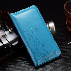 Quality Press Print Universal Cell Phone Leather Wallet Case Beyond 4.7 Inch Five ID for sale