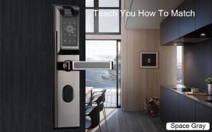 China Class C Biometric Door Lock / Fingerprint Door Lock For Home 100 Card on sale