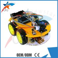 4WD DIY Bluetooth Multi Function Smart Intelligent Robot Tracking Obstacle Avoidance Car Kit