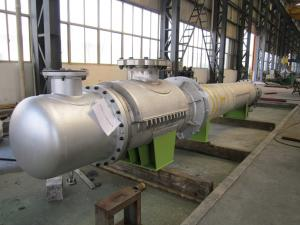 China Stainless steel shell tube heat exchanger on sale