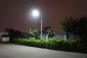 China 50W 3.2mm 600V DC hybrid off grid power Solar and wind street lights for bus station on sale