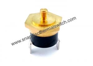 China Water Tank Use Snap Disc Thermal Switch With M4*6 Hexagonal Copper Head on sale