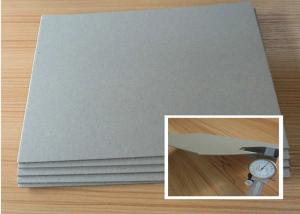 Quality 100% Recycled Materials Grey Chipboard Paper Stiff Grey Board For Boxes for sale