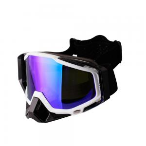 China Good quality good discount REVO coating lens motocross goggles motorcycle goggles with OTG over the glasses function on sale