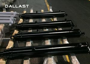 China Double Acting Custom Hydraulic Oil Cylinders for Engineering Trucks on sale