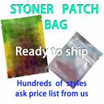 Stock wholesale cannabis infused Stoner patch candy bag, smell proof