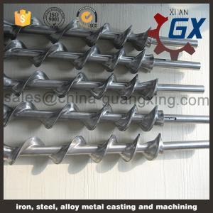 China Extruding single screw barrel for plastic extruder machine on sale