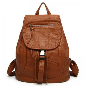 Quality Spring   Summer Fashion Ladies Backpack Washed Leather For Young  Girls for sale ... daf1abfc18891