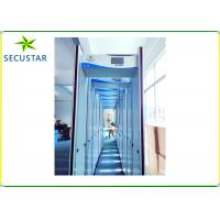 China Sound And Led Alarm Walk Through Body Scanner 24 Zone With Dangerous Metal Object Detection on sale