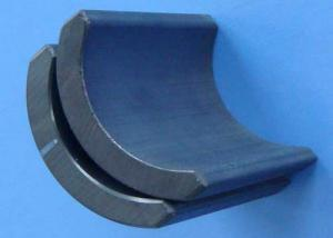 China Powerful Sintered Ferrite Magnet , Ferrite Arc Magnet for Motors on sale