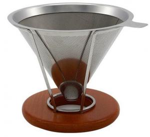 China Chemical Etching Wire Mesh Coffee Filter , Stainless Steel Filter Screen?No - Rusting on sale