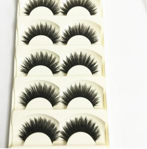 c04e61ab0b1 ... Quality New 3 pairs natural false eyelashes fake lashes long makeup 3d  mink lashes for sale ...