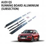 Aluminium Extra Wide Vehicle Running Boards Nerf Bar Professional Design