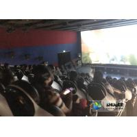 Entertainment Genuine Leather Motion Chairs XD Theatre In 4XD Cinema Hall