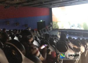 China Entertainment Genuine Leather Motion Chairs XD Theatre In 4XD Cinema Hall supplier
