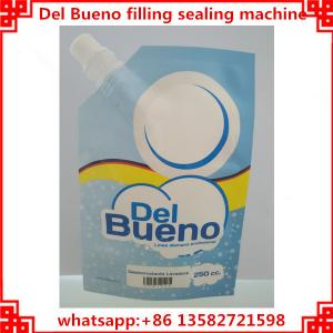 China Del Bueno packing machine,automatic filling and capping cover machine on sale