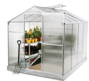Customized Mini Aluminum Home Garden Greenhouse , Poly Film ...