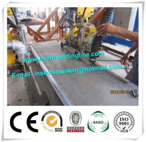 China Durable Box Beam Production Line Fit Double Head Submerged Arc Welding Machine supplier
