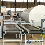 Medium Scale Building Materials 217m3/h Conveyor Belt System