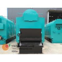 Hot Water Biomass Fired Steam Boiler / Wood Pellet Traveling Grate Stoker Boiler
