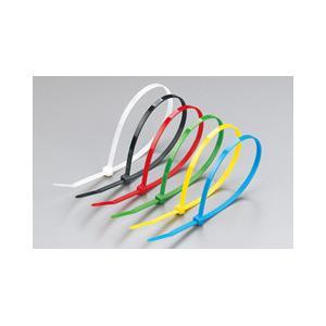 lazos coloridos de autoretención con diversa longitud, CE, UL94V-2 de la cremallera del cable nylon6 de 100PCS/Lot 100*2.5m m