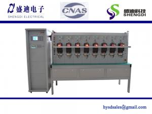 China 10 Meter Positions Three-Phase Energy Meter Test Bench Output Current: 4* 0-120A Voltage: Up to 300V on sale