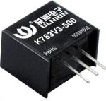 Non-isolated dc dc converter K78XX-500 Series, output 3.3V/5V/9V/12V/15V, 500mA, meet CE/RoHS