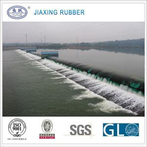 China inflatable rubber water bag dam on sale
