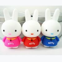 4GB Miffy Rabbit Cartoon USB Flash Drives, Animal Soft PVC USB Memory