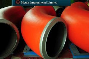 China Tubulação Fittings-ASME/ANSI B16.9, ASME B16.47, ASME B16.48, MSS SP-75 on sale