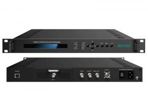 China SFT3543C Digital TV DVB-S Encoder , DVB-S2 Encoder & Modulator With 24V Out on sale