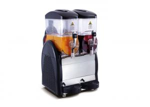 China Double Bowls Fruit Juice Frozen Slush Machine , Frozen Margarita Machine on sale