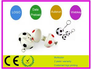 China CE 1GB , 2GB , 4GB , 8GB football patterns Cartoon USB Flash Drive 3.0 AT-203 on sale