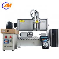 China AMAN 3040 mini cnc router metal cnc rotary cnc engraving machine 3 axis wood carving milling cutting machine for sale on sale