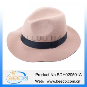 bcfacff470b Quality Hot selling wool bailey hats wide brim fedora cuban style hat for  sale