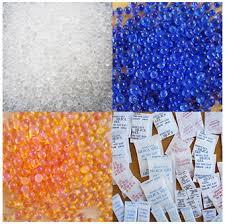 China Silica gel white desiccant on sale