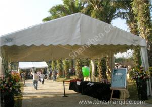 China Uvioresistant White PVC Fabric Cover Outdoor Event Tent with Roof Linings on sale