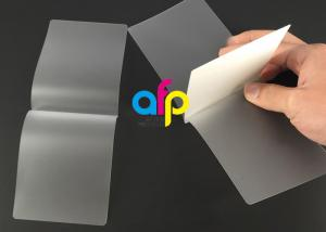 China Card Membrane Clear Laminating Film / Pouch Laminating Film with Different Thickness on sale