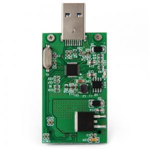 China SA -167 Electronic Circuit Board Assembly Mini PCI-E mSATA to USB 3.0 External SSD PCBA Conveter Card on sale